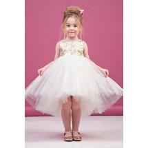"""Платье нарядное для девочек с золотыми блестками """"Ева"""""""
